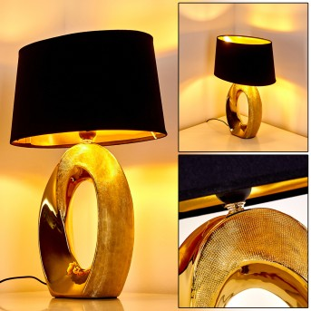 Rovio Lampada da Tavolo Oro, 1-Luce