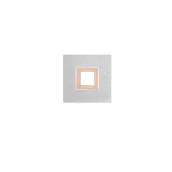 Grossmann KARREE Plafoniera LED Alluminio, Ramato, 1-Luce