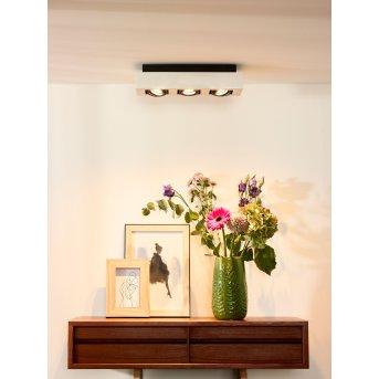 Faretto da soffitto Lucide XIRAX LED Bianco, 3-Luci