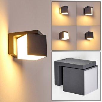 Swanek Applique da esterno LED Antracite, 1-Luce