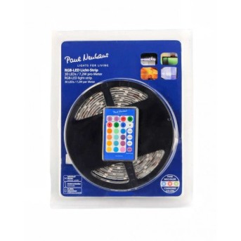 Paul Neuhaus TEANIA Striscia luminosa LED Colorato, 300-Luci, Telecomando, Cambia colore