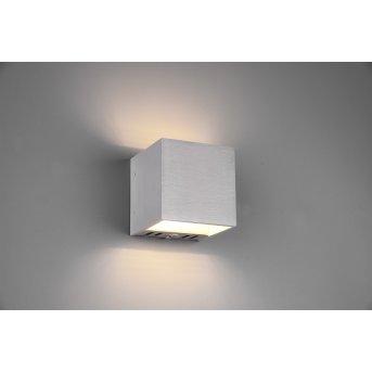 Trio Figo Applique LED Alluminio, 1-Luce, Telecomando, Cambia colore