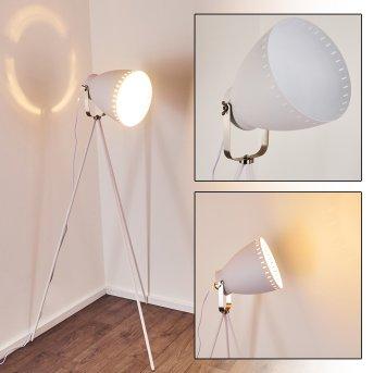 Tanhua Lampada da terra Bianco, 1-Luce