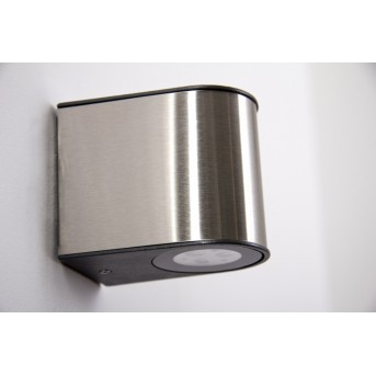 Lutec LED Applique per esterno Acciaio satinato, 6-Luci