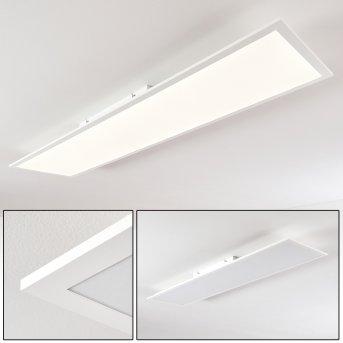 Antria Plafoniera LED Bianco, 1-Luce