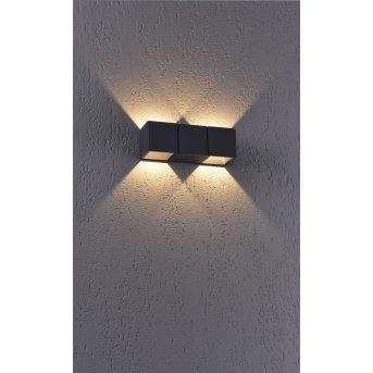 Paul Neuhaus MARCEL Applique LED Antracite, 2-Luci