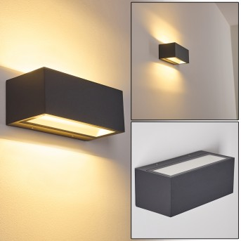 Spidern Applique da esterno LED Alluminio, 1-Luce