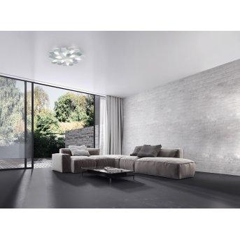 Grossmann Karat Applique LED Alluminio, 10-Luci