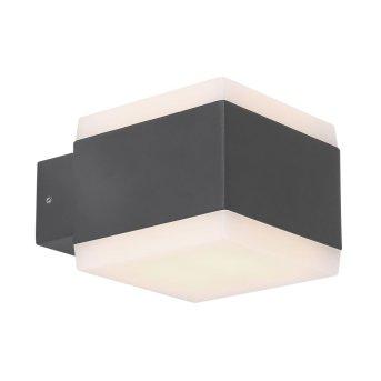 Illuminazione esterna Globo SLICE LED Antracite, 1-Luce, Cambia colore
