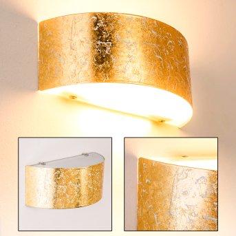 Lesina M Applique Oro, 2-Luci