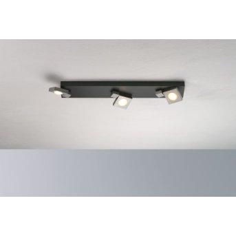 Bopp Flash Plafoniera LED Nero, Antracite, 3-Luci