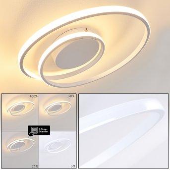 Leksund Plafoniera LED Bianco, 1-Luce