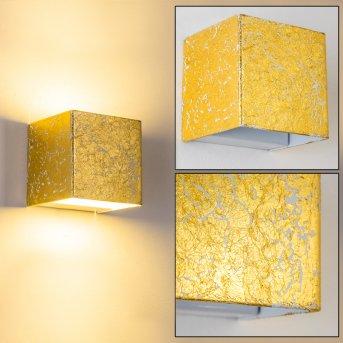 Olbia Applique LED Oro, 1-Luce