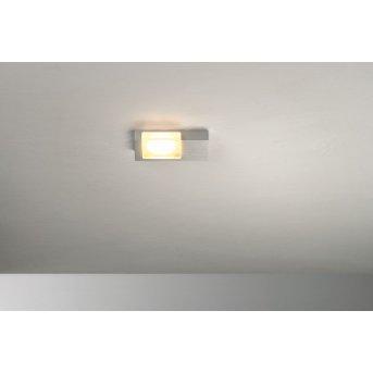 Bopp Lamina Plafoniera LED Alluminio, 1-Luce
