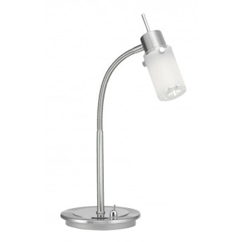 Leuchten Direkt MAX LED Lampada da Tavolo Acciaio inox, 1-Luce
