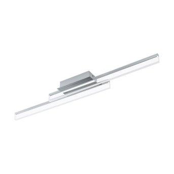 Eglo PALMITAL Plafoniera LED Cromo, 2-Luci
