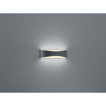 Trio-Leuchten Konda Applique LED Antracite, 1-Luce