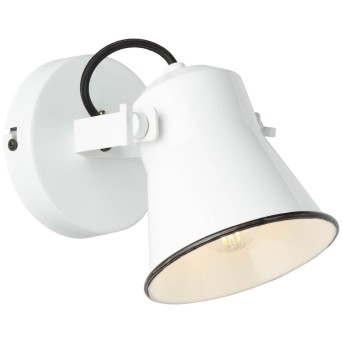 Brilliant Croft Applique Bianco, 1-Luce