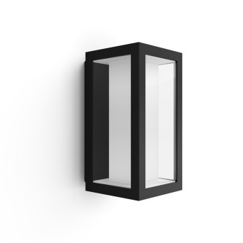 Philips Hue Ambiance White & Color Impress Applique LED Nero, 1-Luce, Cambia colore