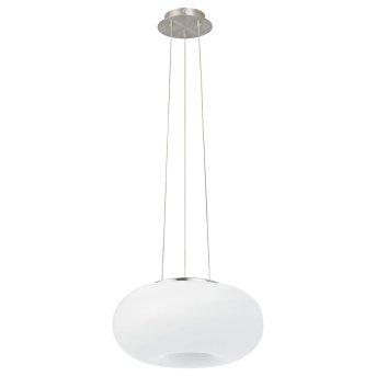 EGLO connect OPTICA-C Lampadario a sospensione LED Nichel opaco, 1-Luce, Cambia colore