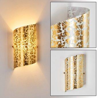 Pordenone Applique Oro, 1-Luce