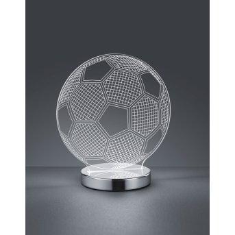 Reality Ball Lampada da Tavolo LED Cromo, 1-Luce