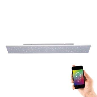 Plafoniera Paul Neuhaus Q-NIGHTSKY LED Alluminio, 1-Luce, Telecomando