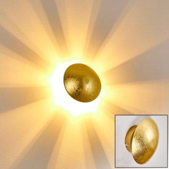 Mezia Applique Oro, 1-Luce