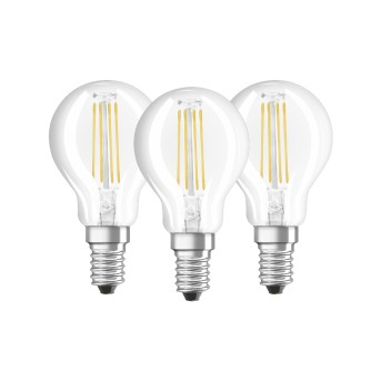 Osram LED E14 4 Watt 4000 Kelvin 470 Lumen Confenzione da 3