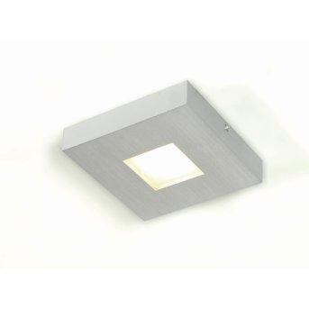 Bopp Cubus Plafoniera LED Alluminio, 1-Luce