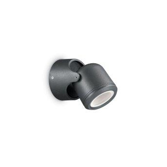 Ideal Lux XENO Applique da esterno Nero, 1-Luce