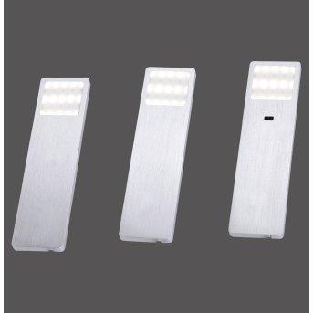 Paul Neuhaus HELENA Illuminazione sottopensile LED Alluminio, 1-Luce, Sensori di movimento