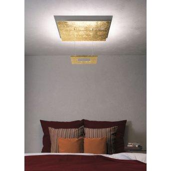 Escale ZEN D2W Plafoniera LED Oro, 4-Luci