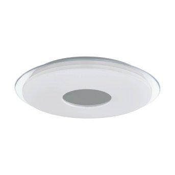 Eglo LANCIANO-C Applique e plafoniera LED Bianco, Trasparente, chiaro, 1-Luce