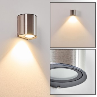 Vano Applique da esterno LED Acciaio inox, 1-Luce