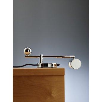 Tecnolumen DS 28 Lampada da tavolo Cromo, 1-Luce