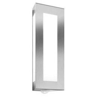 CMD Aqua Light Applique Acciaio inox, 2-Luci, Sensori di movimento