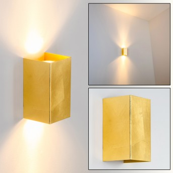 Matera Applique Oro, 2-Luci