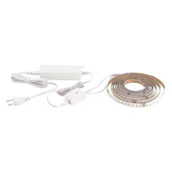 EGLO LED-STRIPE-A Fascia luminosa Bianco, 1-Luce, Telecomando