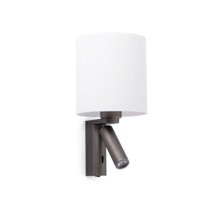 Faro Barcelona Rob Applique Led Bronzo 68496 Lampe Shop Ch
