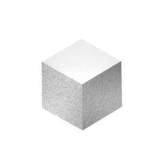 Grossmann GEO Applique LED Alluminio, 2-Luci