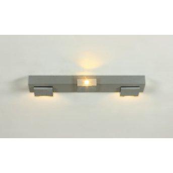 Bopp Elle Barra con faretti da soffitto LED Alluminio, 3-Luci