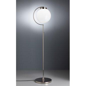 Tecnolumen DSL 23 Lampada da terra Nichel lucido, 1-Luce