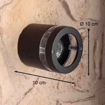 Lutec FOCUS Applique per esterno Antracite, 1-Luce