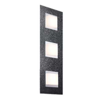 Grossmann BASIC Plafoniera LED Antracite, 3-Luci