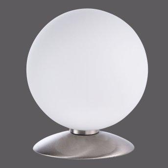 Paul Neuhaus BUBBA Lampada da Tavolo LED Acciaio inox, 1-Luce