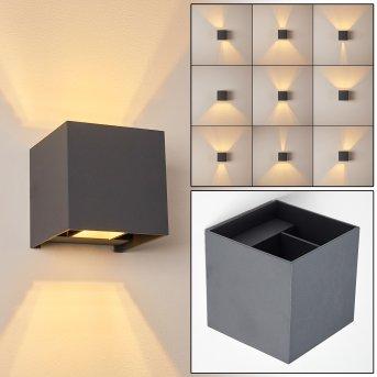 Badajoz Applique LED Antracite, 1-Luce