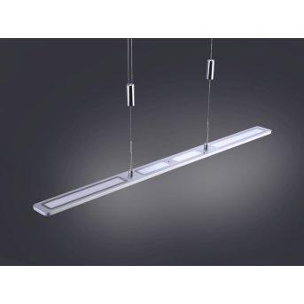Paul Neuhaus NIKA Lampada a Sospensione LED Alluminio, 1-Luce