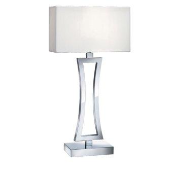 Lampada da Tavolo Searchlight CUSION Cromo, 1-Luce