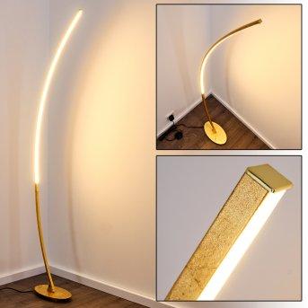 Nagu Lampada da terra LED Oro, 1-Luce